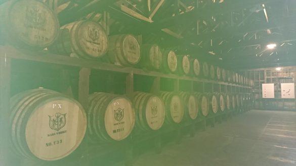 ウイスキー工場見学